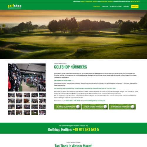 SITEKICK · WERBEAGENTUR · NÜRNBERG screenshot-golfshop-nuernberg-500x500