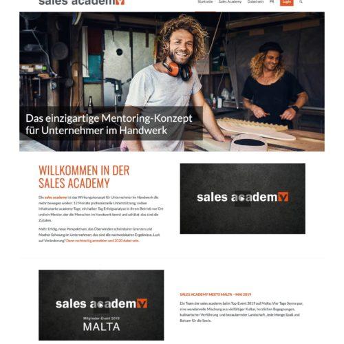 SITEKICK · WERBEAGENTUR · NÜRNBERG screenshot-salesacademy-500x500